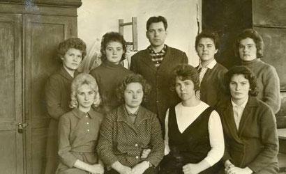 Коллектив учителей. Середина 60-х годов.