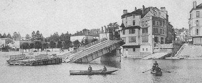 le pont détruit en 1914