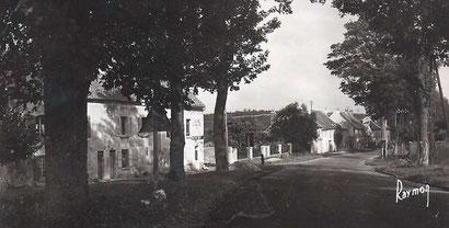 Arrivée en bas de la côte vers 1950