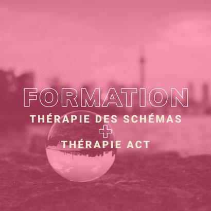 Formation thérapie schémas ACT Bordeaux