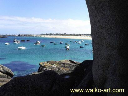 Bretagne, Jens Walko Kunst,walko-art