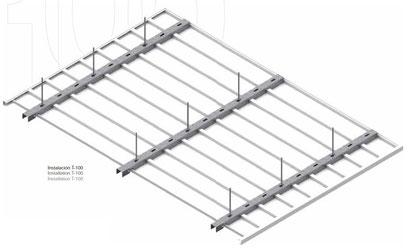 Montajes techos pvc