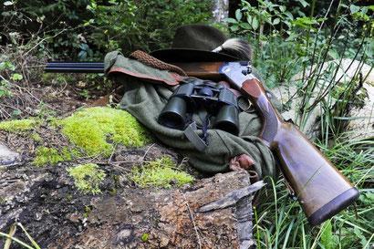 Jagdausrüstung Foto: Leo Wyden