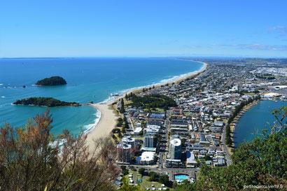 - Tauranga depuis le Mont Maunganui - Nouvelle-Zélande -