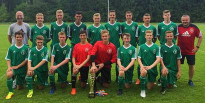 Die erfolgreiche Fuldaer B-Junioren-Regionalauswahl