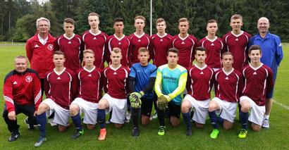 Die B-Junioren-Regionalauswahl überzeugte wieder als echtes Team