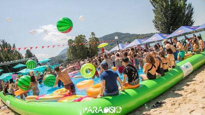 piscine gonflable Annecy activité