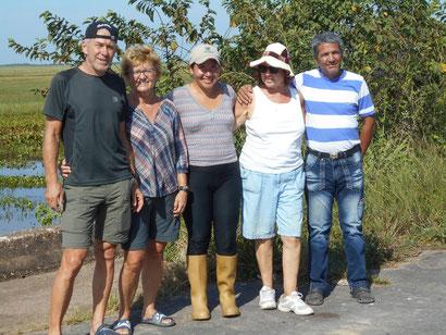 unsere Gruppe bei der Llanos-Tour