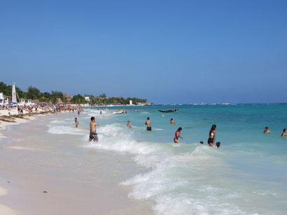 Strand Playa del Carmen