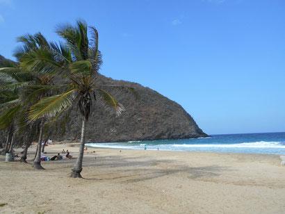 der Strand hier in Chroni ist auch ganz schön