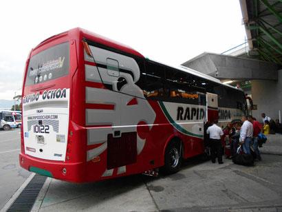 """der langsame """"Rapido-Bus"""", dafür aber mit WIFI"""