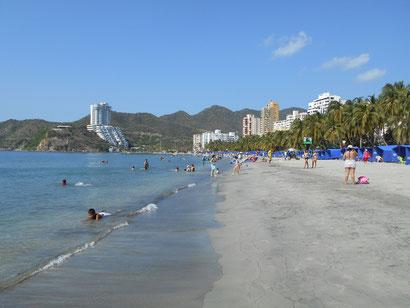 Strand in Rodadero
