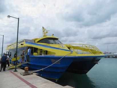 Fähre Cancun-Isla Mujeres