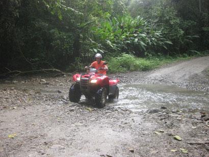 Quad-Abenteuer