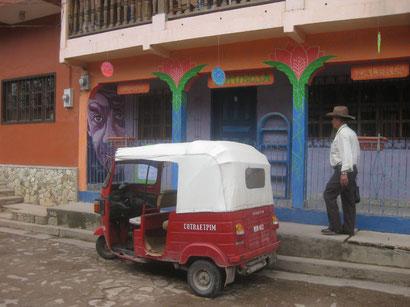 Taxi in Copan