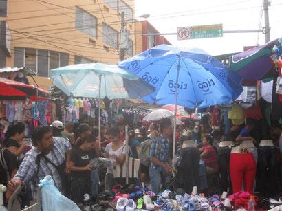 Markt in der Altstadt, San Salvador