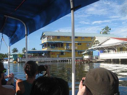 unser Hotel auf Bocas del Toro