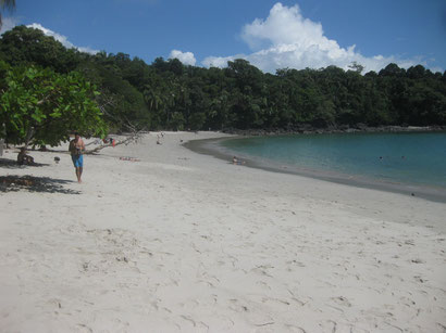 Strand im Nationalpark Manuel Antonio
