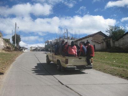 Bus für kurze Strecken