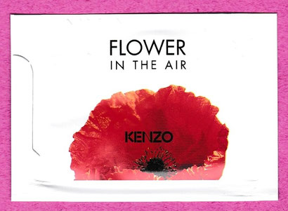 FLOWER IN THE AIR :  POCHETTE PARFUMEE
