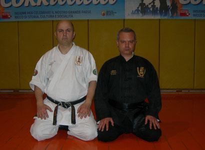 Shihan Francesco Cuzzocrea  e Antonio  Fazio