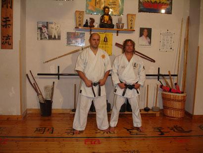 Shihan Santana e Shihan Francesco Cuzzocrea
