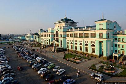 Bahnhof Omsk