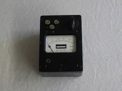 Gossen  Telefon Wählscheiben Prüfgerät. Gefertigt 1954