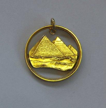 Münzsagewerk Katrin Thull | Ägypten Pyramide