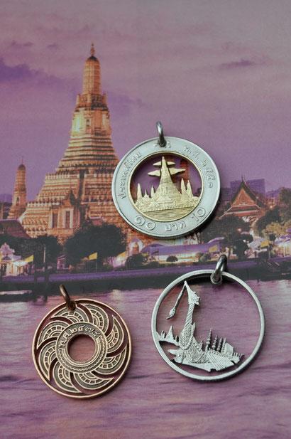 Münzsägewerk Katrin Thull | Thailand - Sonnenrad