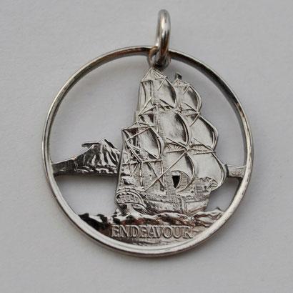 Münzsägewerk Katrin Thull | Neuseeland - Segelschiff Endeavour