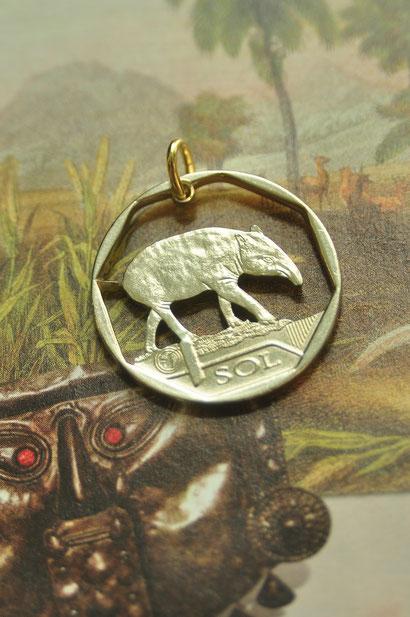 Münzsägewerk Katrin Thull | Peru - Tapir