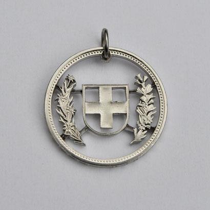 Münzsägewerk Katrin Thull | Schweiz - Wappen