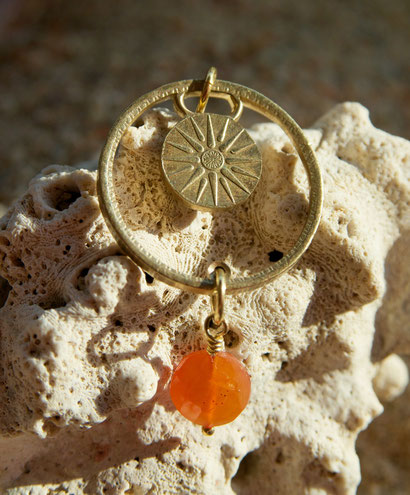 Münzsägewerk Katrin Thull | Griechenland - Sonne mit Stein