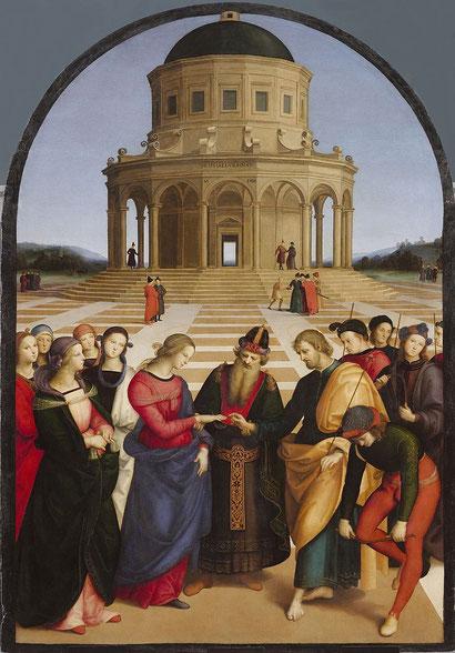 Обручение девы Марии - Рафаэль