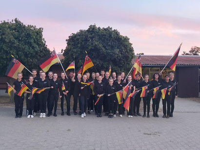 Große Freude über EM-Silber in Mainz-Ebersheim / Bild RicksPics