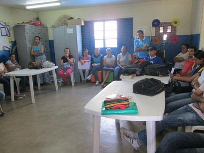 Reunião da Comissão de Greve com os servidores de Serrolândia