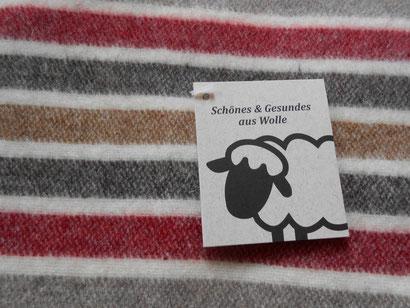 kuschelige Decken Merino-Wolle und Schafwolle