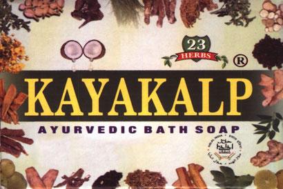 handgemachte Ayurvedische Kräuterseife mit Kokosöl und 23 Kräutern