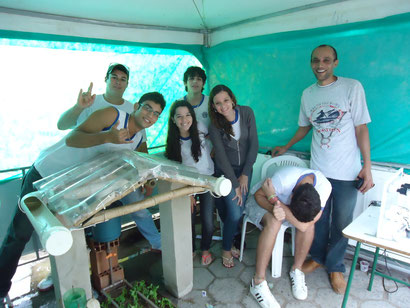 Yuri; Wallace; Thamiris; Rafael; Bárbara; Gabriel; Lucas.