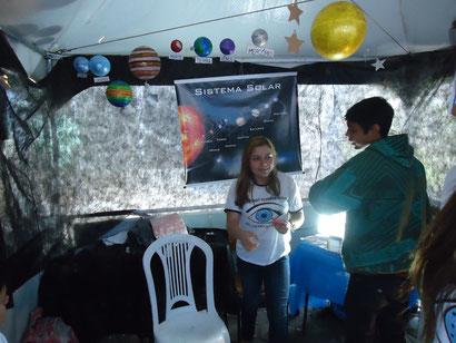 Sistema Solar. / Parabéns ao Sétimo ano vespertino pela excelente apresentação na feira de Ciências 2011.