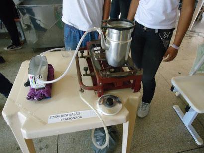 Destilação Fracionada (1 ano)