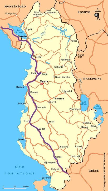 bigousteppes routard albanie balkans tour