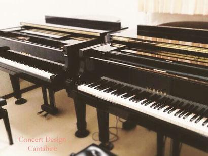 YAMAHA グランドピアノ G3(2本ペダル) / YAMAHA グランドピアノ C3