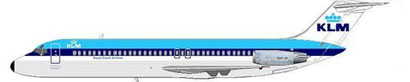 KLM Douglas DC-9-32/Courtesy: MD-80.com