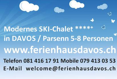Ferienhaus Davos Chalet 'I da Lercha' Davos Klosters Parsenn