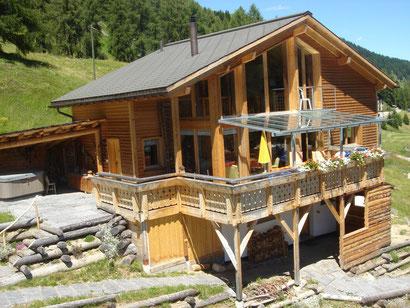 Ferienhaus Davos Chalet Schweiz Skihaus Skihütte