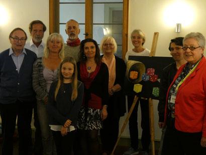 Das sind wir! (von links) Dr. Karl F. Grommes, Bernhard Klinger, Lena Sauerwein, Wolfgang Schmidt (h.), Mandy A. Wendt (v.), Jana Wendt, Wilma Muders, Angelika Gumpert, Marcel Wendt, Ingrid Leonhard und Bernhard Emde (leider nicht auf dem Foto)
