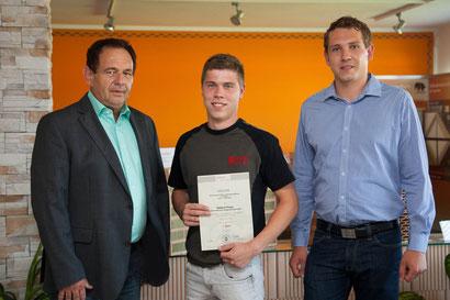 Franz Haberl, Zweites Mal in Folge 1.Platz beim praktischen Ausbildungskurs des BWZ Oberösterreich
