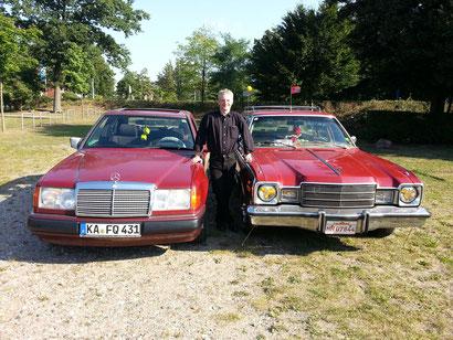 Plymouth Volare 1976 & Mercedes W124 200E 1991